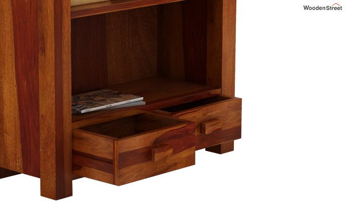 Anderson Book Shelf (Honey Finish)-5