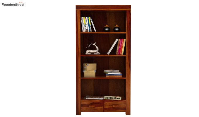 Anderson Book Shelf (Honey Finish)-3