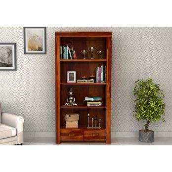 Anderson bookshelf honey finish