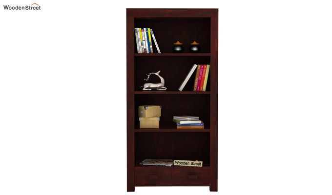 Anderson Book Shelf (Mahogany Finish)-2