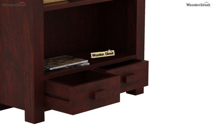 Anderson Book Shelf (Mahogany Finish)-4