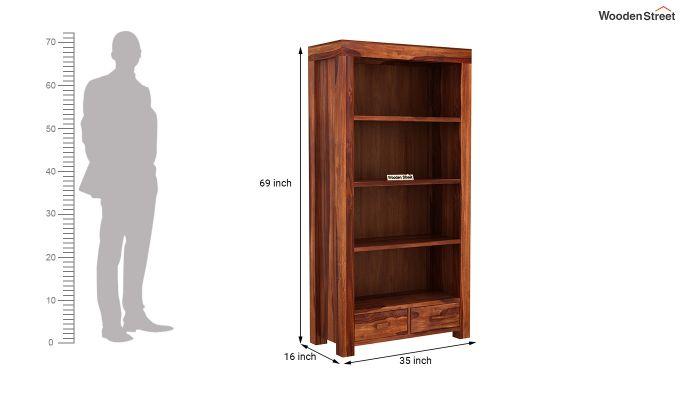 Anderson Book Shelf (Honey Finish)-5