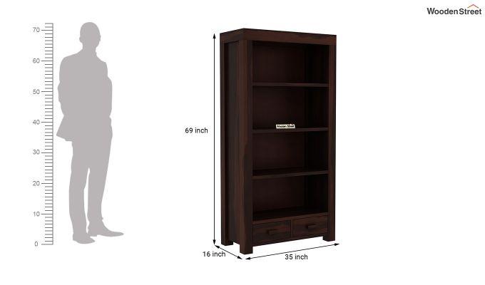 Anderson Book Shelf (Walnut Finish)-5