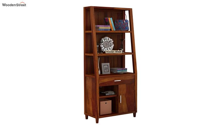 Arnold Bookshelf (Honey Finish)-2