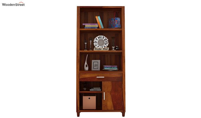 Arnold Bookshelf (Honey Finish)-3