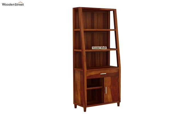 Arnold Bookshelf (Honey Finish)-4