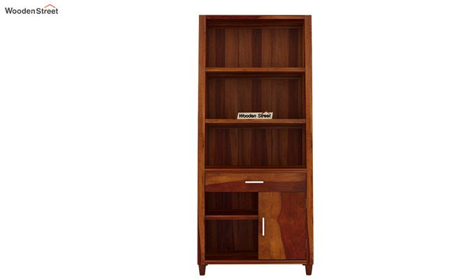 Arnold Bookshelf (Honey Finish)-5