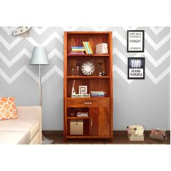 Arnold Bookshelf (Honey Finish)