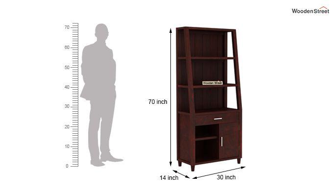 Arnold Bookshelf (Mahogany Finish)-6