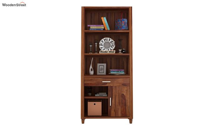 Arnold Bookshelf (Teak Finish)-2