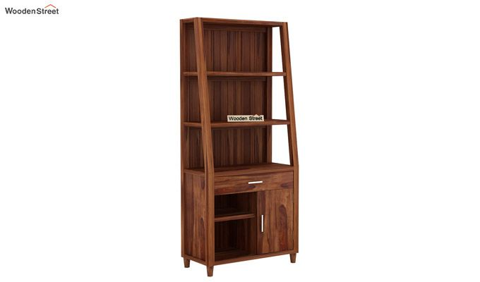 Arnold Bookshelf (Teak Finish)-3