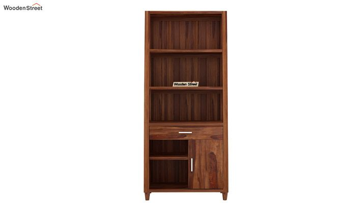 Arnold Bookshelf (Teak Finish)-4