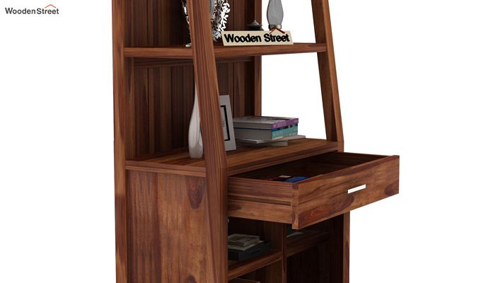 Arnold Bookshelf (Teak Finish)-5
