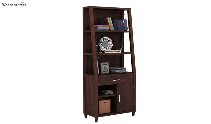 Arnold Bookshelf (Walnut Finish)-1
