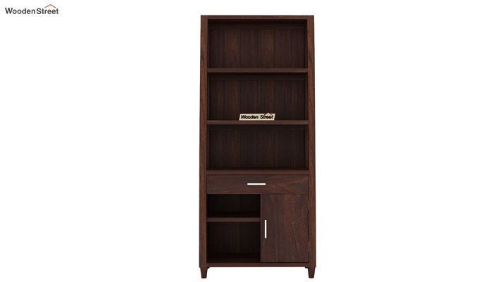 Arnold Bookshelf (Walnut Finish)-4