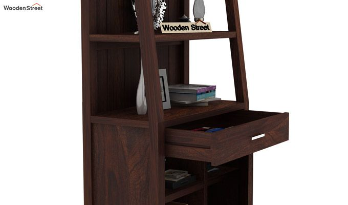 Arnold Bookshelf (Walnut Finish)-5