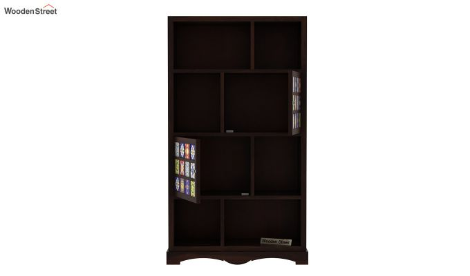 Boho Book Shelf (Walnut Finish)-5