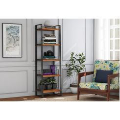 Bron Loft BookShelf (Teak Finish)