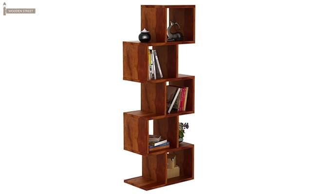 Cagney Book Shelves (Honey Finish)-2