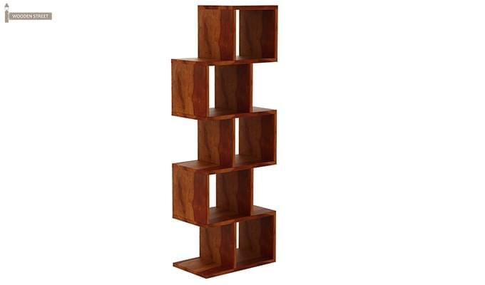 Cagney Book Shelves (Honey Finish)-5
