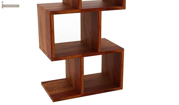Cagney Book Shelves (Honey Finish)-6