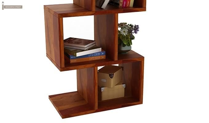 Cagney Book Shelves (Honey Finish)-7