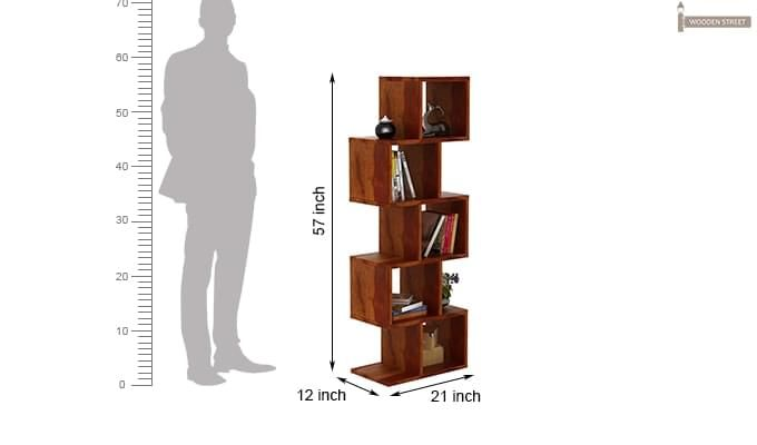 Cagney Book Shelves (Honey Finish)-8