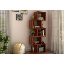 Cagney Book Shelves (Honey Finish)