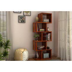 Cagney Book Shelves (Honey Finish)
