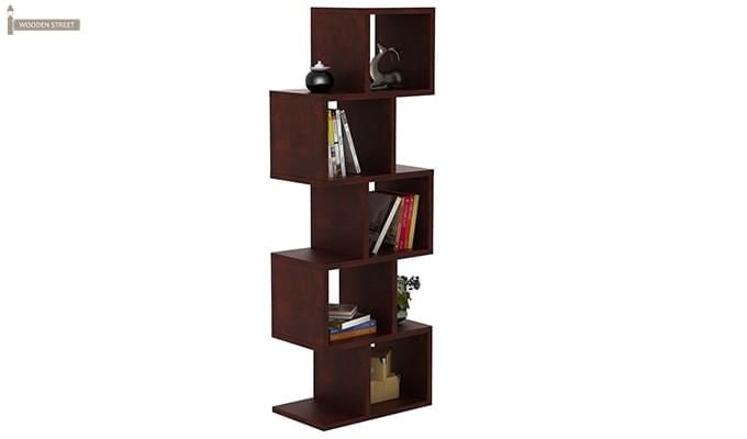 Cagney Book Shelves (Mahogany Finish)-1