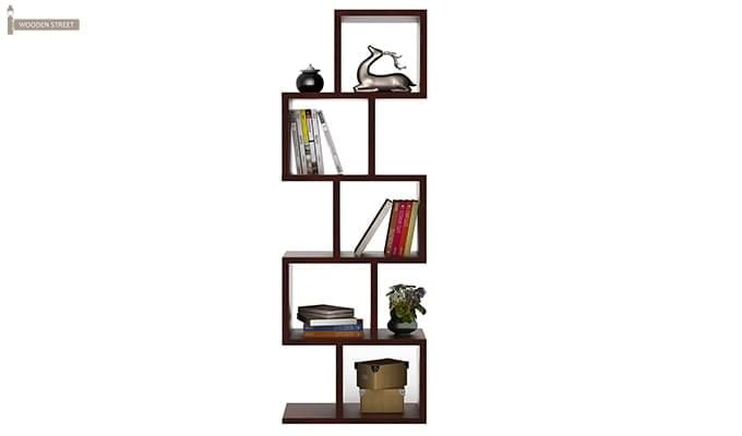 Cagney Book Shelves (Mahogany Finish)-2