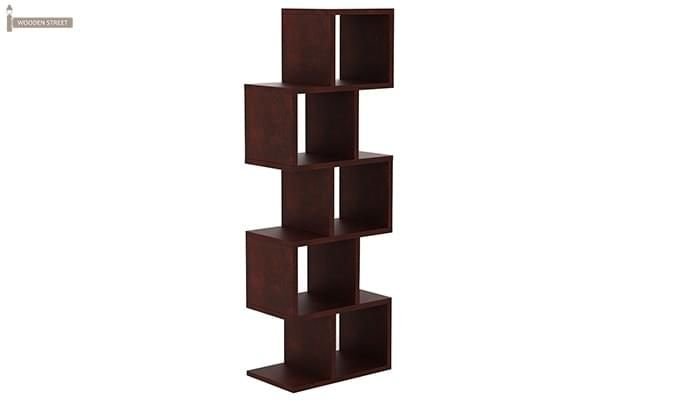 Cagney Book Shelves (Mahogany Finish)-3
