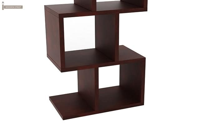 Cagney Book Shelves (Mahogany Finish)-4