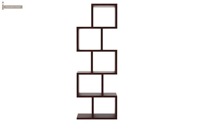 Cagney Book Shelves (Mahogany Finish)-5