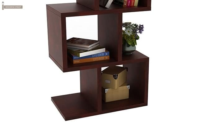 Cagney Book Shelves (Mahogany Finish)-6