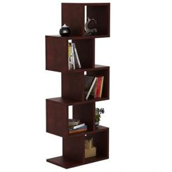 Cagney Book Shelves (Mahogany Finish)
