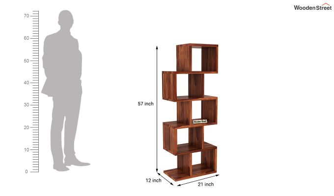 Cagney Book Shelves (Honey Finish)-4