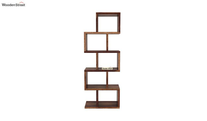 Cagney Book Shelves (Teak Finish)-3