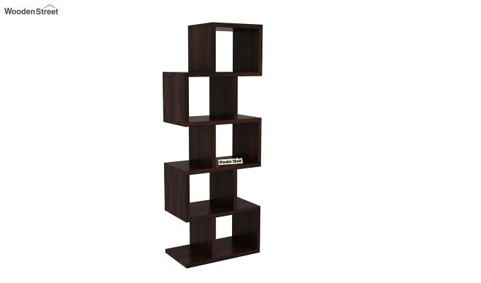 Cagney Book Shelves (Walnut Finish)-2