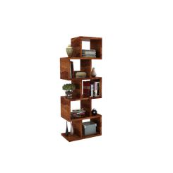 Cagney Book Shelves (Teak Finish)