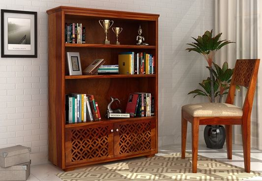 Sheesham wood bookshelf online