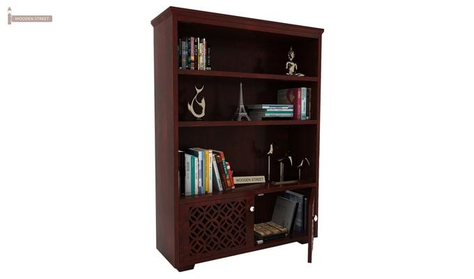 Cambrey Book Shelves (Mahogany Finish)-3