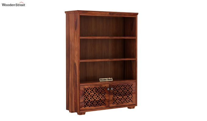 Cambrey Book Shelves (Honey Finish)-2