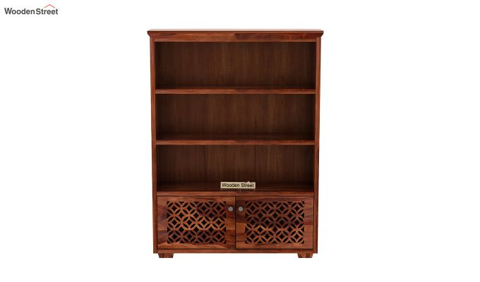 Cambrey Book Shelves (Honey Finish)-3