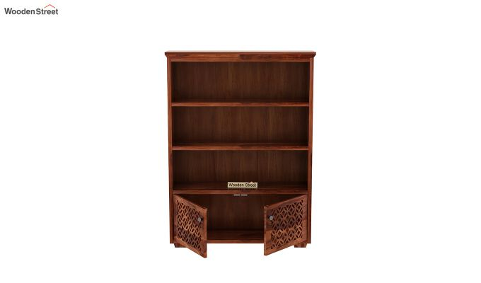 Cambrey Book Shelves (Honey Finish)-5