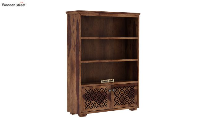 Cambrey Book Shelves (Teak Finish)-2