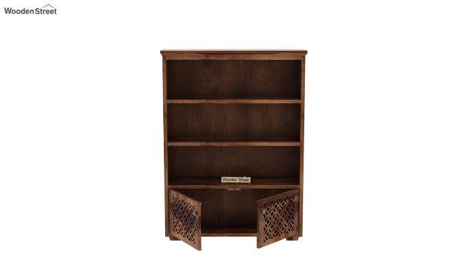 Cambrey Book Shelves (Teak Finish)-5