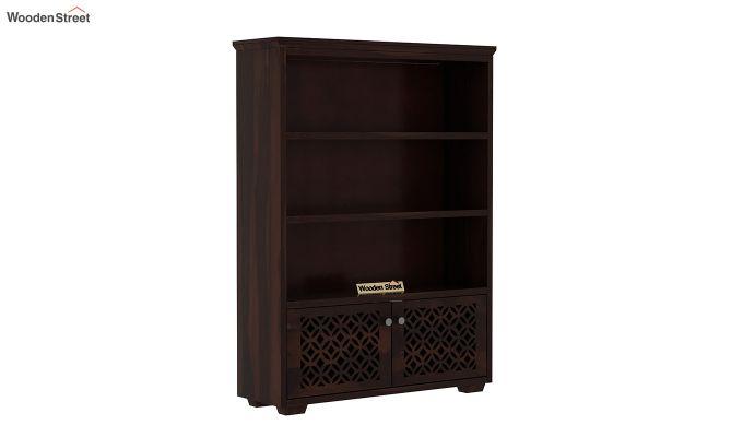 Cambrey Book Shelves (Walnut Finish)-2