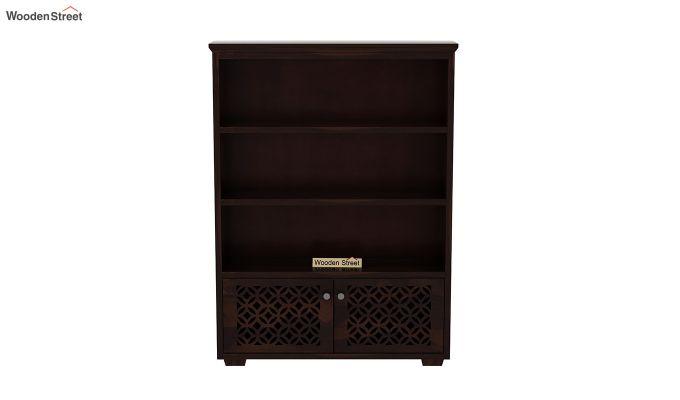 Cambrey Book Shelves (Walnut Finish)-3