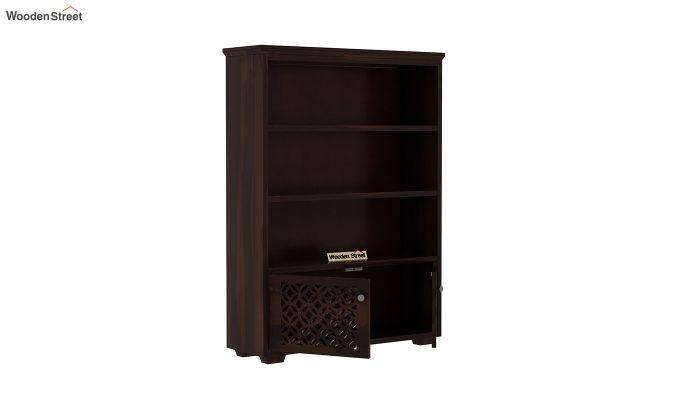 Cambrey Book Shelves (Walnut Finish)-4